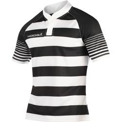 textil Dreng T-shirts m. korte ærmer Kooga K106B Black/White