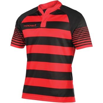 textil Dreng T-shirts m. korte ærmer Kooga K106B Black/Red