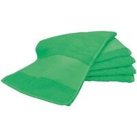 Indretning Håndklæde og badehandske A&r Towels Taille unique Irish Green
