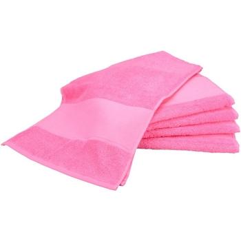 Indretning Håndklæde og badehandske A&r Towels Taille unique Pink