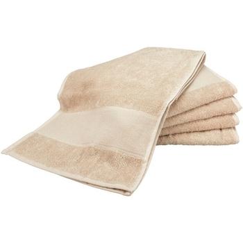 Indretning Håndklæde og badehandske A&r Towels Taille unique Sand