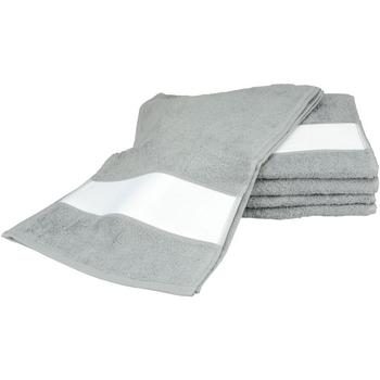 Indretning Håndklæde og badehandske A&r Towels 30 cm x 140 cm Anthracite Grey