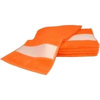 Indretning Håndklæde og badehandske A&r Towels 30 cm x 140 cm Bright Orange