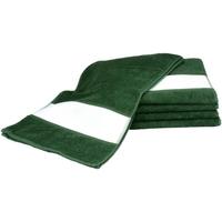 Indretning Håndklæde og badehandske A&r Towels 30 cm x 140 cm Dark Green