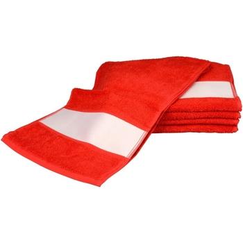 Indretning Håndklæde og badehandske A&r Towels 30 cm x 140 cm Fire Red