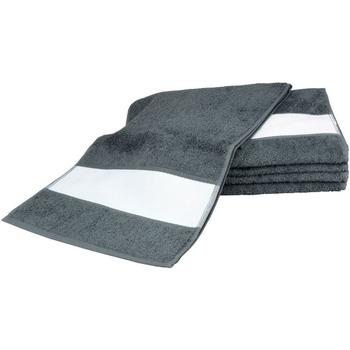 Indretning Håndklæde og badehandske A&r Towels 30 cm x 140 cm Graphite