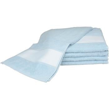 Indretning Håndklæde og badehandske A&r Towels 30 cm x 140 cm Light Blue