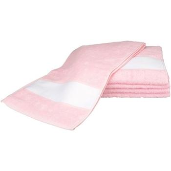 Indretning Håndklæde og badehandske A&r Towels 30 cm x 140 cm Light Pink
