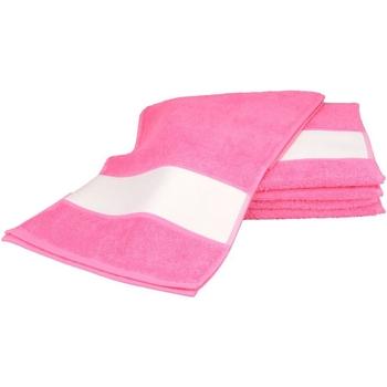 Indretning Håndklæde og badehandske A&r Towels 30 cm x 140 cm Pink