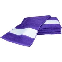 Indretning Håndklæde og badehandske A&r Towels 30 cm x 140 cm Purple