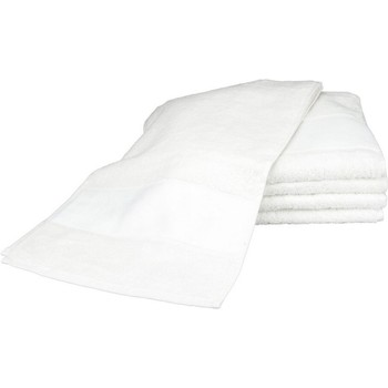 Indretning Håndklæde og badehandske A&r Towels 30 cm x 140 cm White