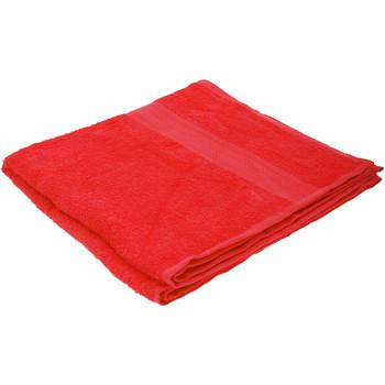 Indretning Håndklæde og badehandske Jassz 70 cm x 140 cm BC552 Red