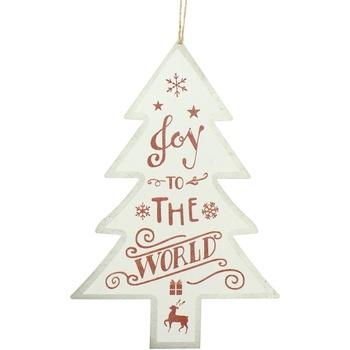 Indretning Julepynt Christmas Shop RW5076 White Joy