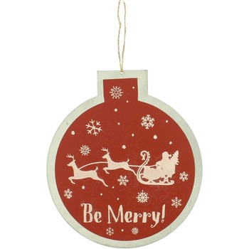 Indretning Julepynt Christmas Shop RW5077 Red Be Merry
