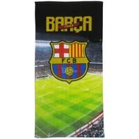 Indretning Herre Strandhåndklæde Fc Barcelona SI233 Multicoloured