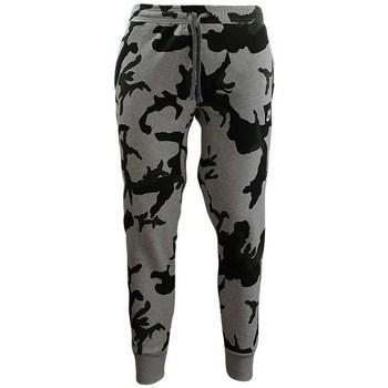textil Herre Leggings Nike Camouflage Jogginghose Sort, Grå, Grøn