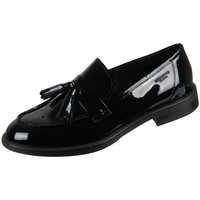 Sko Dame Mokkasiner Vagabond Shoemakers Amina Black Lack Sort