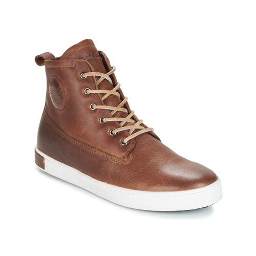 Sko Herre Høje sneakers Blackstone INCH WORKER ON FOXING FUR Brun