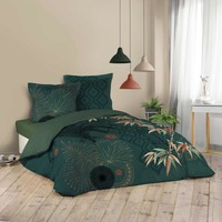 Indretning Sengelinned Douceur d intérieur JAPONI Smaragd