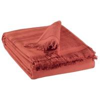 Indretning Håndklæde og badehandske Vivaraise CANCUN Rød