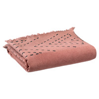 Indretning Håndklæde og badehandske Vivaraise JULIA Pink / Blush