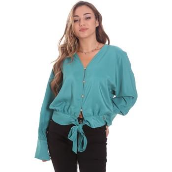 textil Dame Skjorter / Skjortebluser Gaudi 111BD45031 Grøn