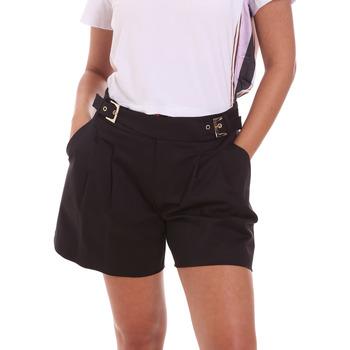 textil Dame Shorts Fracomina FR21SP1006W44001 Sort