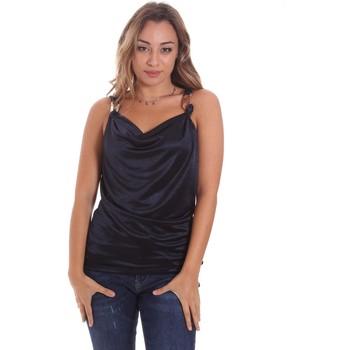 textil Dame Toppe / T-shirts uden ærmer Gaudi 111FD44001 Blå