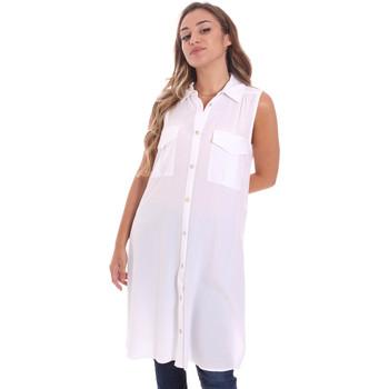 textil Dame Skjorter / Skjortebluser Fracomina FR21ST1017W42801 hvid