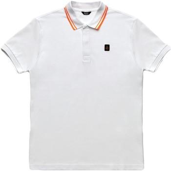 textil Herre Polo-t-shirts m. korte ærmer Refrigiwear RM0T24000PX9032 hvid