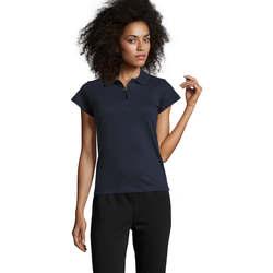textil Dame Polo-t-shirts m. korte ærmer Sols PRESCOTT POLO MUJER Azul