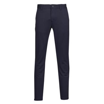 textil Herre Chinos / Gulerodsbukser Only & Sons  ONSMARK Marineblå