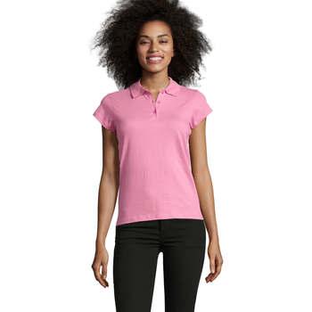 textil Dame Polo-t-shirts m. korte ærmer Sols PRESCOTT POLO MUJER Rosa