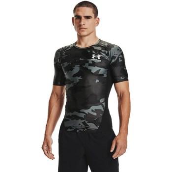 textil Herre T-shirts m. korte ærmer Under Armour HG Isochill Comp Print Grå