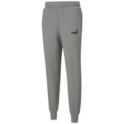 textil Herre Træningsbukser Puma Ess Logo Pants TR CL Grå