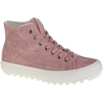 Sko Dame Høje sneakers Big Star Shoes Big Top Pink