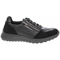 Sko Dame Lave sneakers Remonte Dorndorf D570102 Sort, Grafit