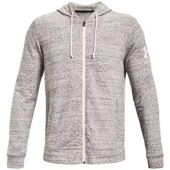 textil Herre Sweatshirts Under Armour Rival Terry Full Zip Hoodie Grå