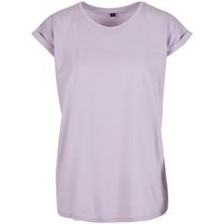 textil Dame T-shirts m. korte ærmer Build Your Brand Extended Lilac