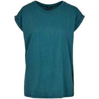 textil Dame T-shirts m. korte ærmer Build Your Brand Extended Teal