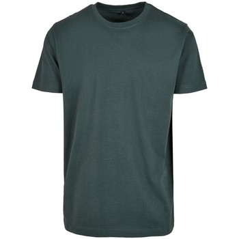 textil Herre T-shirts m. korte ærmer Build Your Brand BY004 Bottle Green