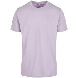 textil Herre T-shirts m. korte ærmer Build Your Brand BY004 Lilac