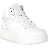 Sko Dame Høje sneakers Windsor Smith WHITE THRIVE Bianco