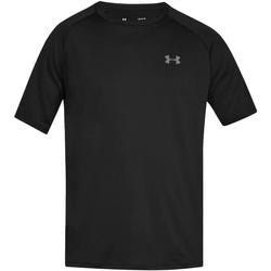 textil Herre T-shirts m. korte ærmer Under Armour UA005 Black/Light Graphite