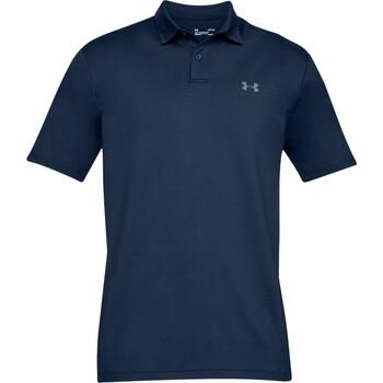 textil Herre Polo-t-shirts m. korte ærmer Under Armour UA006 Dark Navy/Grey