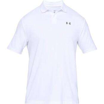 textil Herre Polo-t-shirts m. korte ærmer Under Armour UA006 White/Grey
