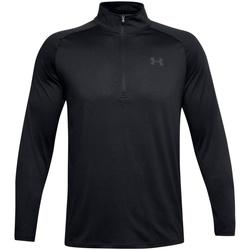 textil Herre Langærmede T-shirts Under Armour UA004 Black/Charcoal Grey