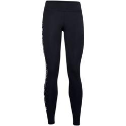textil Dame Leggings Under Armour UA027 Black/White