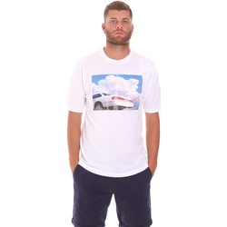 textil Herre T-shirts m. korte ærmer Sseinse TE1825SS hvid