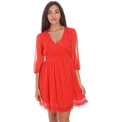 textil Dame Korte kjoler Fracomina FR21SD1007W42301 Rød